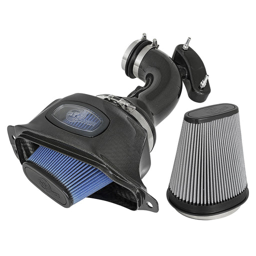 aFe Power Black Series Carbon Fiber Cold Air Intake System Filters Chevrolet Corvette (C7) 14-19 V8-6.2L