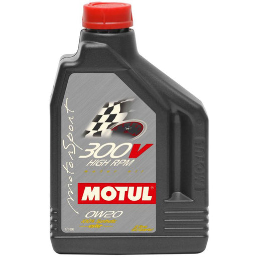 Motul 300V Power Racing Oil - 0W20 2L-Oils/Fluids-Speed Science