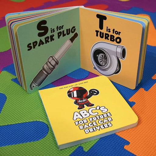Fast Kids Club - ABC's For Future Racers-Books-Speed Science