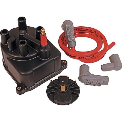 MSD Ignition Distributor Cap/Rotor - B18C/B16B Suit Ext Coil-Distributor Caps & Rotors-Speed Science