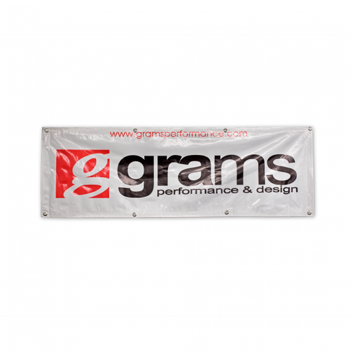 Grams Performance Grams Performance Banner (Silver)