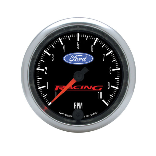 "AutoMeter 3-3/8"" In-Dash Tachometer, 0-10,000 RPM, Ford Racing"