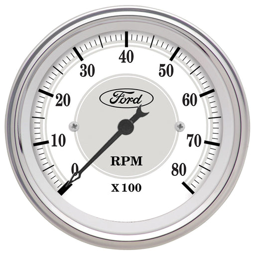 AutoMeter 3 1/8in In-Dash 8000 RPM Incandescent Flood Lit Tachometer
