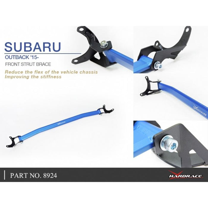 Hard Race Front Strut Bar Subaru, Outback, Bs 14-