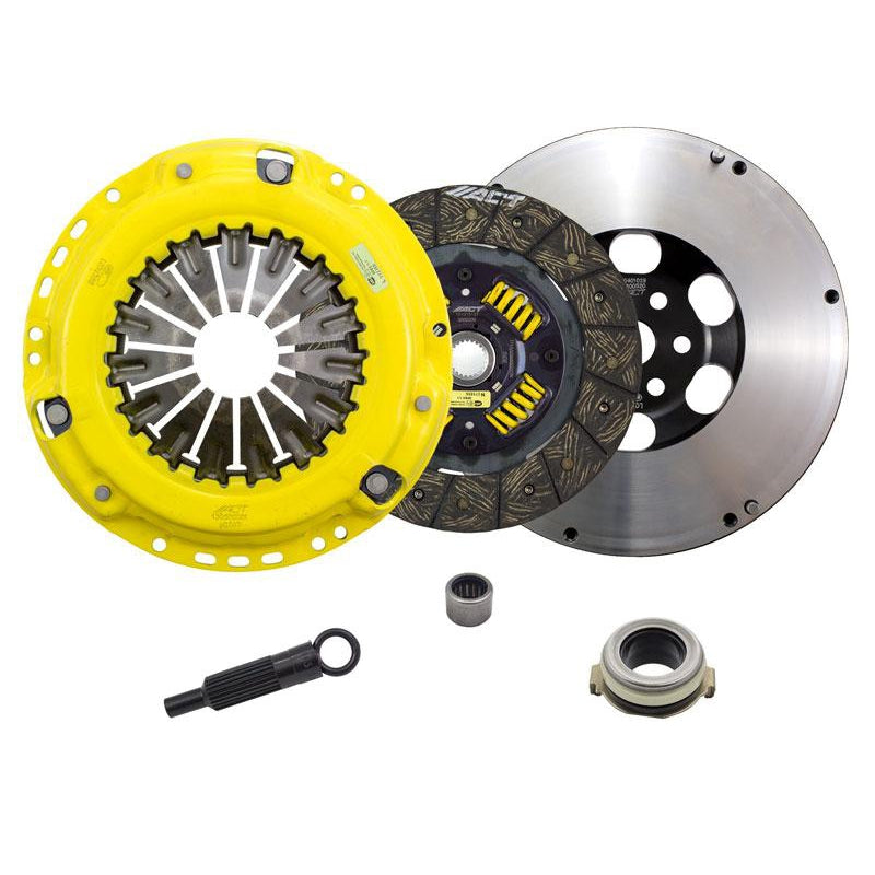 ACT Heavy Duty Organic Street/Race Clutch Kit w'FLyheel - MS3/6-Clutch Kits-Speed Science