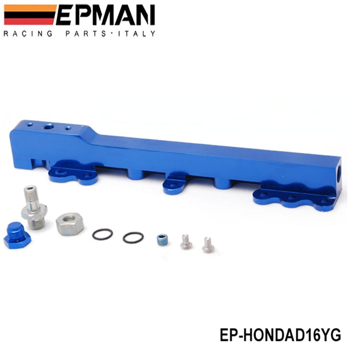 EPMAN Billet Fuel Rail - D Series-Fuel Rails-Speed Science