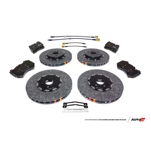AMS Alpha Performance R35 GT-R Carbon Ceramic Brake Package