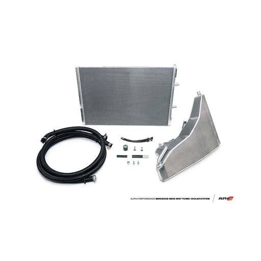 AMS Alpha Performance Mercedes-Benz E63 S AMG Turbo Cooler System