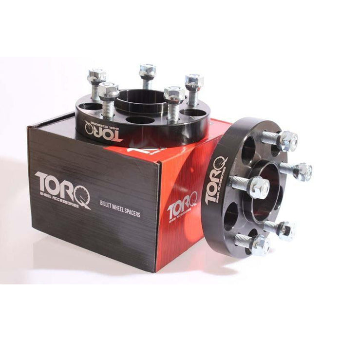 Torq Bolt On Hubcentric Wheel Spacers - 4x100-Wheel Spacers & Adapters-Speed Science