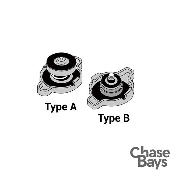 Chase Bays Radiator Cap Type A, 1.37bar / 20psi
