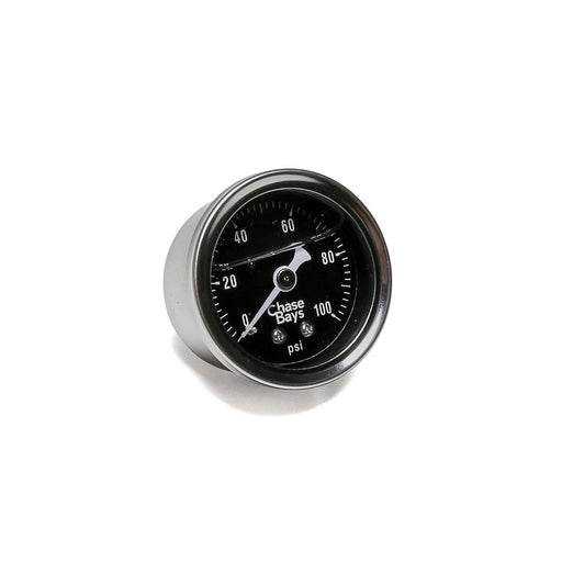 Chase Bays Fuel Pressure Gauge - Liquid Filled 0-100psi