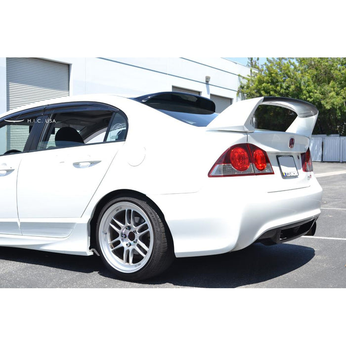 HICUSA Rear Visor - Civic FD 4dr-Visors-Speed Science