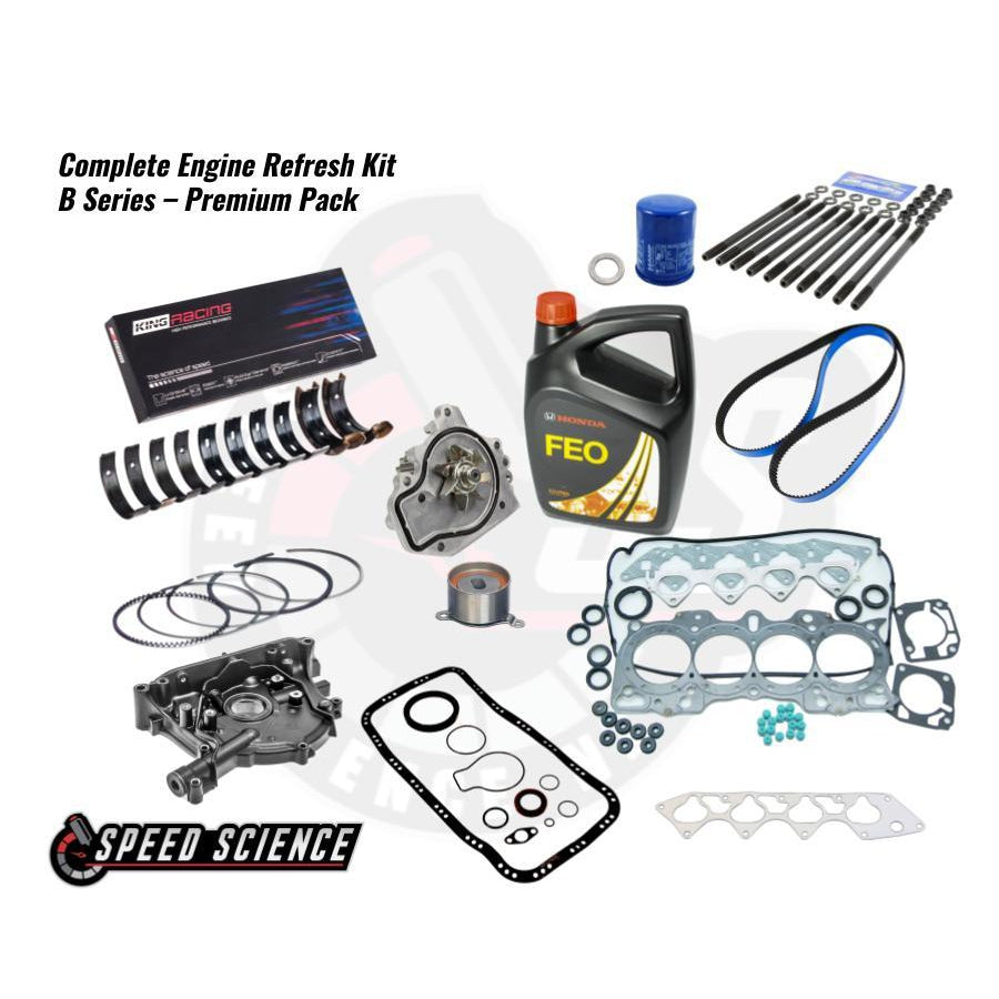 Complete Engine Refresh Kit - B Series - Premium Pack-Package Deals-Speed Science