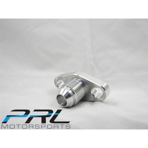 PRL GT Turbo -8AN Ported Oil Drain Flange Slotted