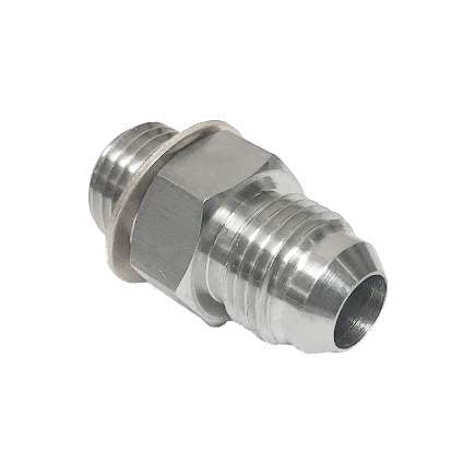 ATP Turbo Fitting, Metric 14mm to -6AN, Male to Male (For coolant or oil) GT/GTX28 30 35 G Series