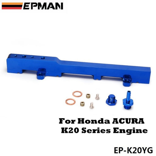 EPMAN Billet Fuel Rail - K Series-Fuel Rails-Speed Science