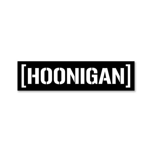 HOONIGAN Censor Bar Sticker - 250mm
