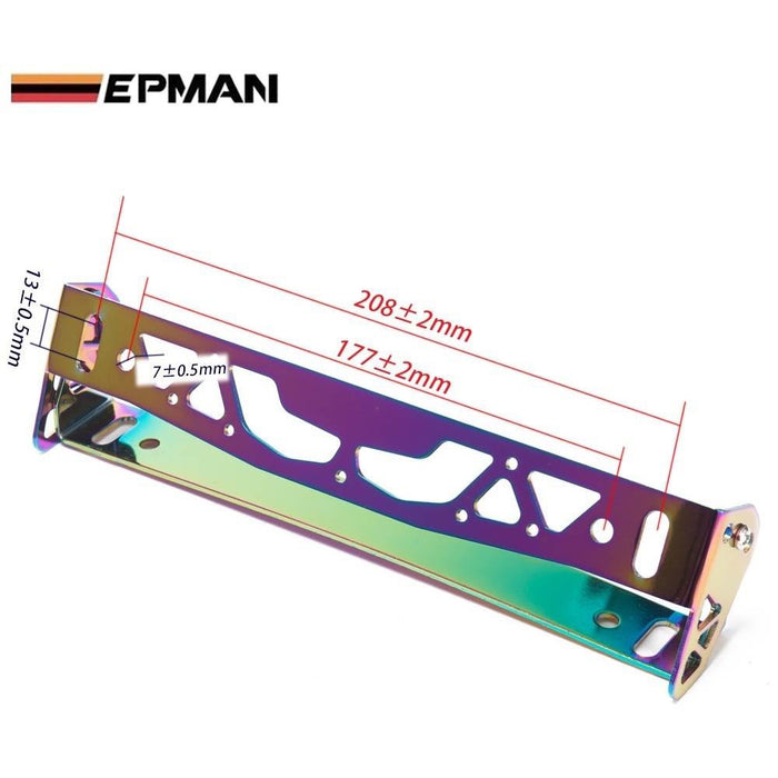 EPMAN Alloy Plate Tilt Frame-License Plate Angler-Speed Science