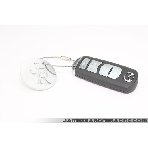 JBR Polished Stainless Key Chain