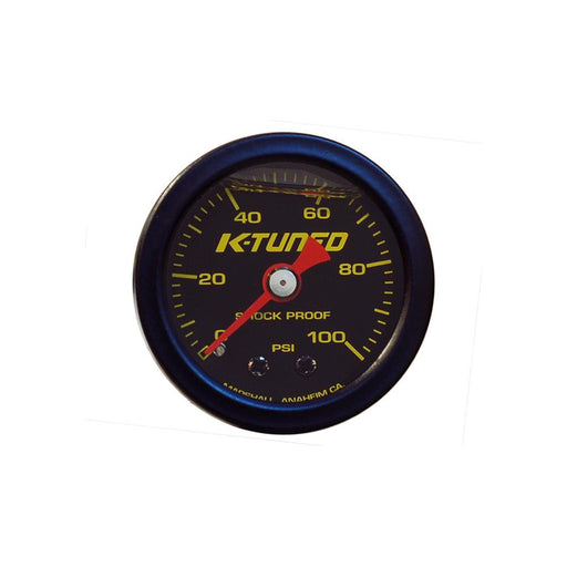 K-Tuned Marshall Fuel Pressure Gauge (0-100 psi)-Fuel Pressure Gauges-Speed Science