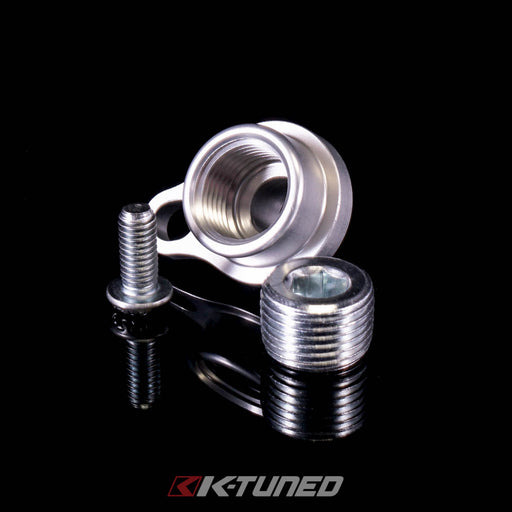 "K-Tuned Oil Cooler Plug with 3/8"" Npt-Oil Coolers & Cooler Kits-Speed Science"