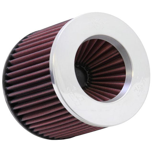 "K&N Pod Filter - 3"" Inlet x 5"" Height - Polished Top-Air Filters-Speed Science"