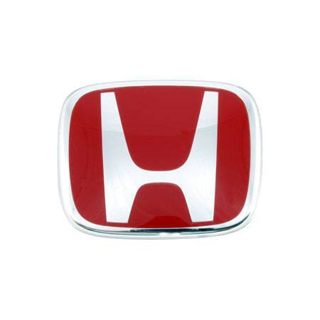 Honda Genuine Front Red H Badge - DC2-Decals & Badges-Speed Science