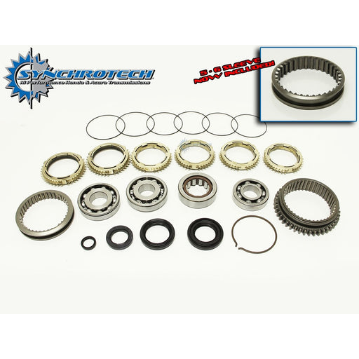 Synchrotech Master Rebuild Kit - 05+ K Series 6 Speed (inc all CL7/9)-Transmission Rebuild Kits-Speed Science