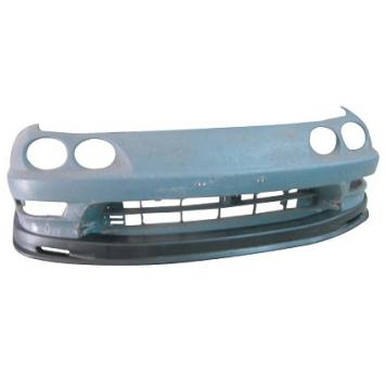 "HC Racing Front Lip - DC2 99-00 ""M Style""-Lips, Flares & Kits-Speed Science"