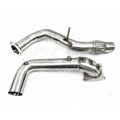 "PLM 3"" Downpipe & Frontpipe Combo - FK8 Type R"