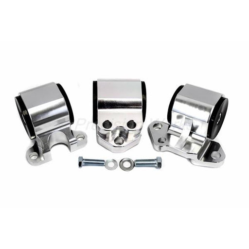 Precision Works Billet Engine Mount Kit - EG/DC 3 Post D/B Series