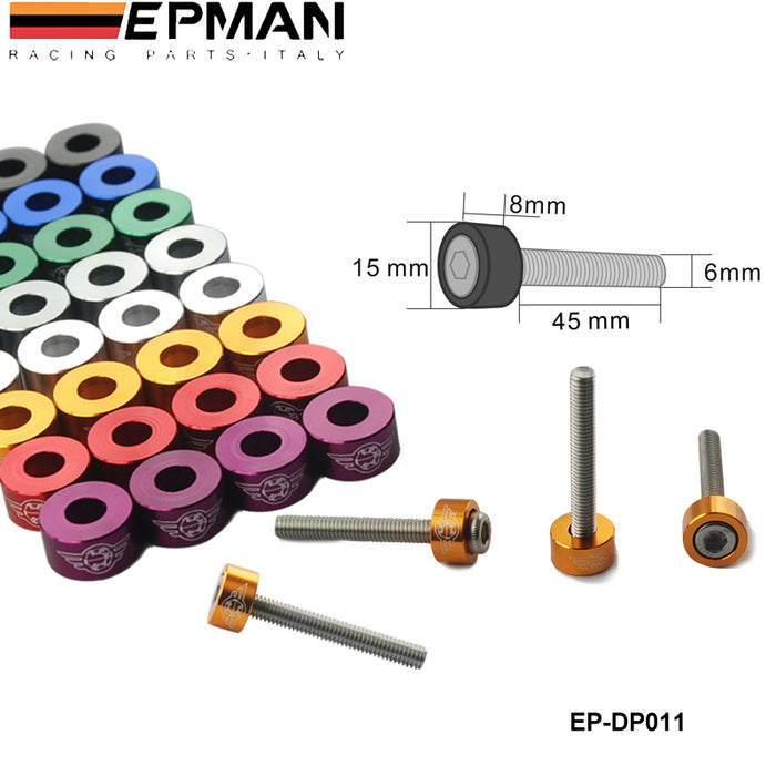 EPMAN Cam Cap Washer Kit - B Series-Dress Up Bolts & Washer Kits-Speed Science