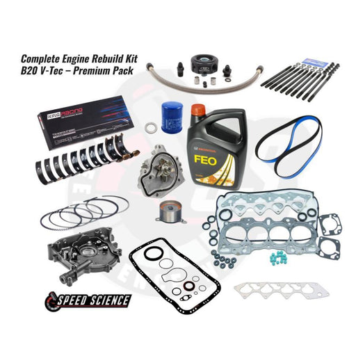 Complete Engine Rebuild Kit - B20 V-Tec - Premium Pack-Package Deals-Speed Science