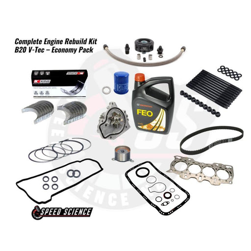 Complete Engine Rebuild Kit - B20 V-Tec - Economy Pack-Package Deals-Speed Science