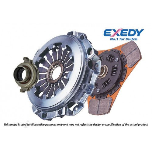Exedy 3 Puk Heavy Duty Sports Ceramic Clutch Kit - B Series Hydro-Clutch Kits-Speed Science