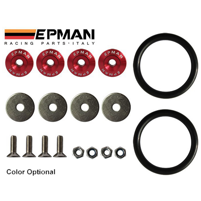 EPMAN Quick Release Replacement Bands-Quick Release Panel Fasteners-Speed Science
