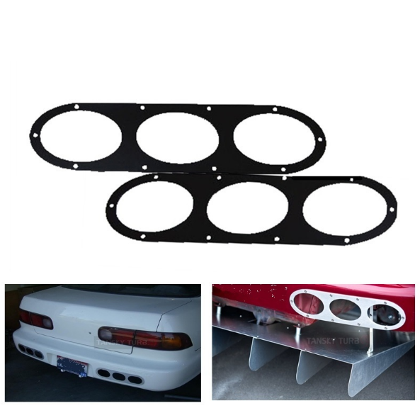 EPMAN Rear Bumper Diffuser Panels (pair)-Rear Diffusers-Speed Science