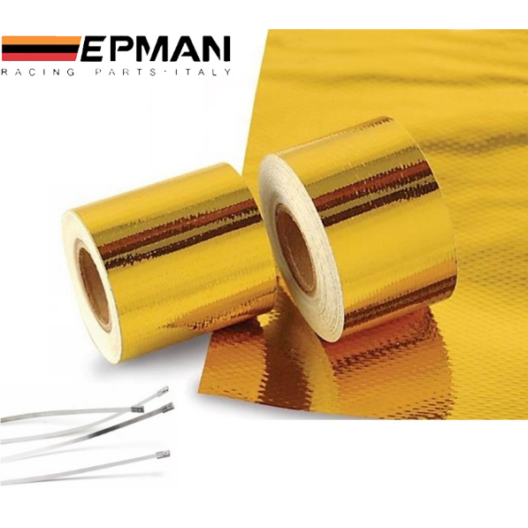 "EPMAN Gold Reflective Heat Tape (2""x5m)-Heat Protection-Speed Science"