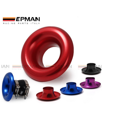 EPMAN Alloy Intake Bellmouth-Velocity Stacks-Speed Science