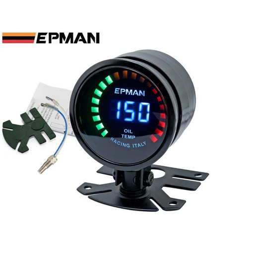 EPMAN Digital Oil Temp Gauge-Gauges-Speed Science