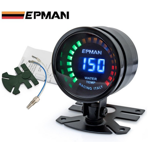 EPMAN Digital Water Temp Gauge-Gauges-Speed Science
