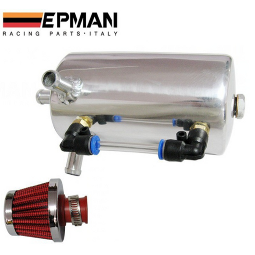 EPMAN .5L Alloy Oil Catch Can Kit-Catch Cans & Reservoirs-Speed Science