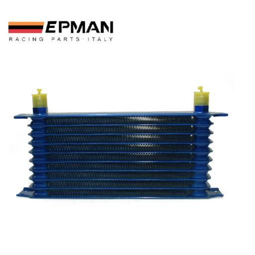 EPMAN Alloy Oil Cooler 10 Row-Oil Coolers & Cooler Kits-Speed Science