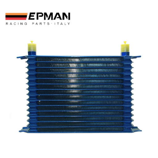 EPMAN Alloy Oil Cooler 15 Row-Oil Coolers & Cooler Kits-Speed Science