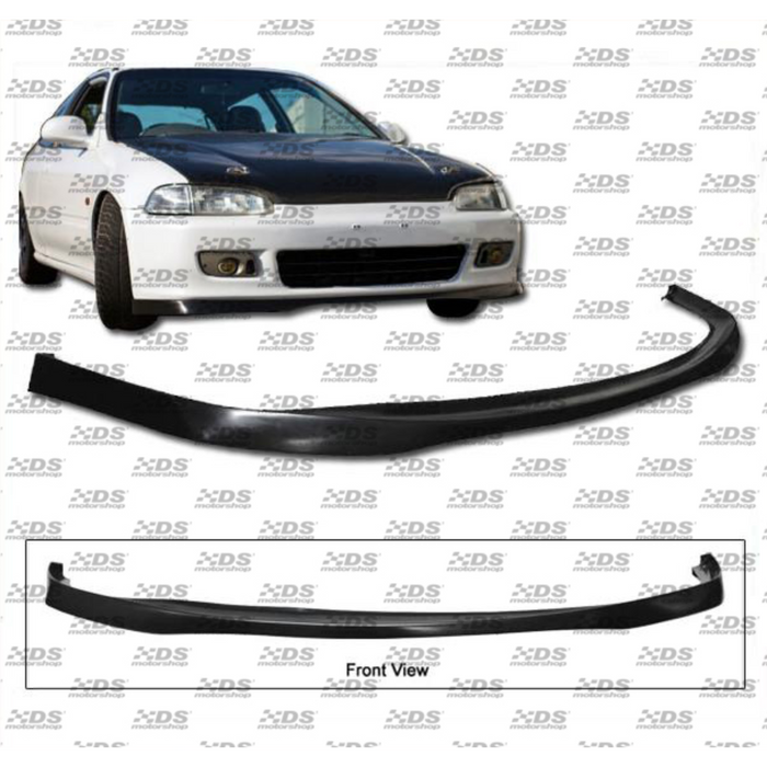 "HC Racing Front Lip - EG 2/3dr ""SiR Style""-Lips, Flares & Kits-Speed Science"
