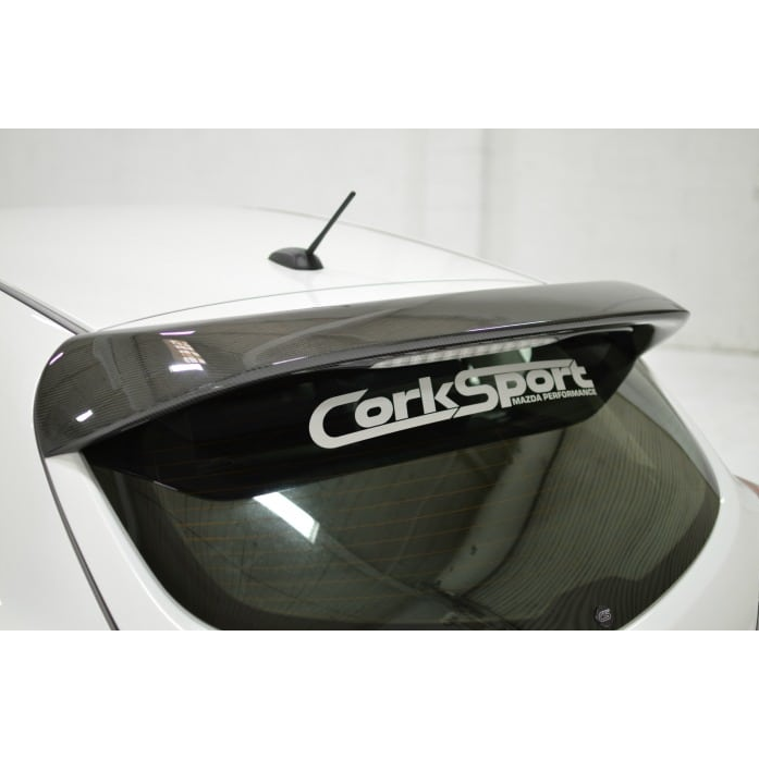 Corksport Carbon Fibre Spoiler - MS3 Gen 2-Wings & Spoilers-Speed Science