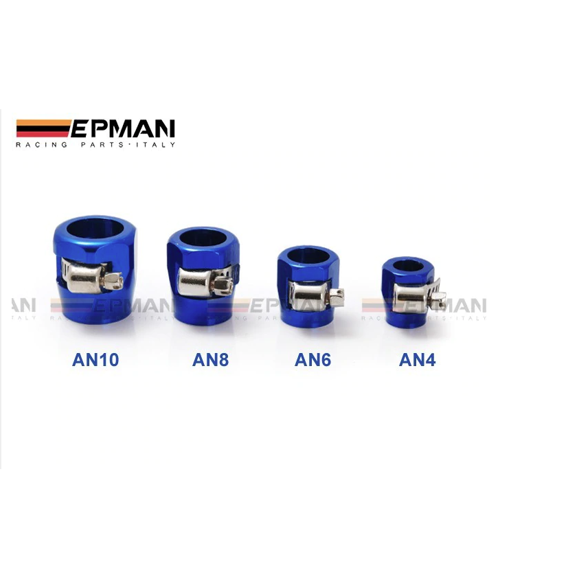 EPMAN - Anodised Hose Clamps-AN Fittings & Hose-Speed Science