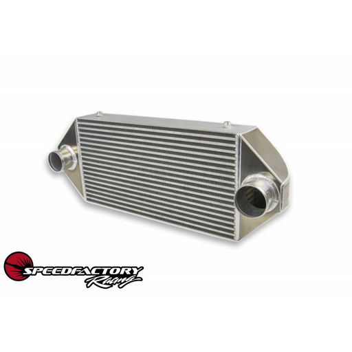 "SpeedFactory Dual Backdoor Intercooler - 3"" Inlet / 3"" Outlet (600HP-850HP)-Intercoolers & Intercooler Kits-Speed Science"