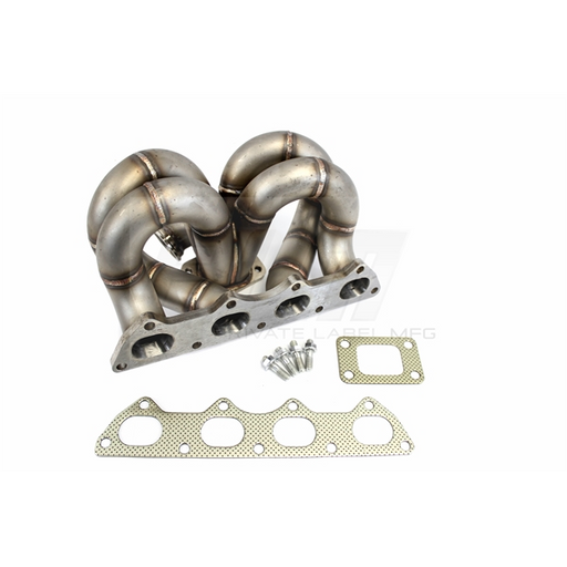 PLM T3 Ramhorn Turbo Manifold - B-Series (AC & PS Comp)-Turbo Manifolds-Speed Science