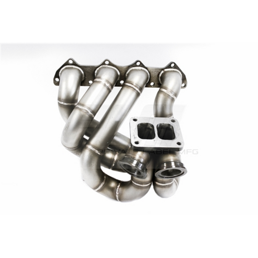 PLM T4 Top Mount Turbo Manifold (Dual W'Gates) - B Series-Turbo Manifolds-Speed Science